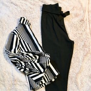 Blouse and trouser set